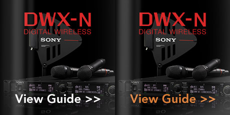 Sony DWX Digital Wireless Guide - Click Here >>