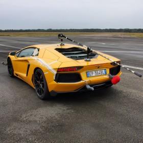 Recording a Lamborghini Murcielago