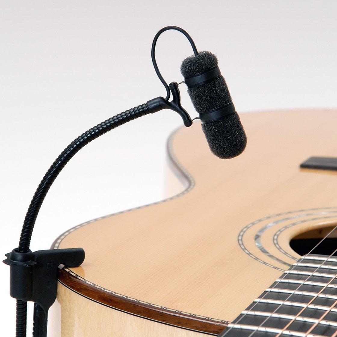 dpa d vote 4099g clip microphone for guitar sound network. Black Bedroom Furniture Sets. Home Design Ideas