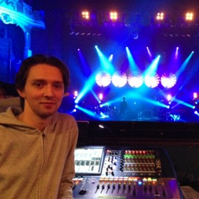 Charlie Dale, FOH Engineer
