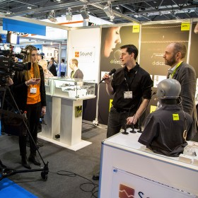 DPA Microphones and Bubblebee Industries at BVE2014