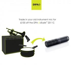 £100 Off DPA d:dicate™ 2011C Microphone