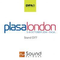 DPA and Sound Network at Plasa Show London 2014