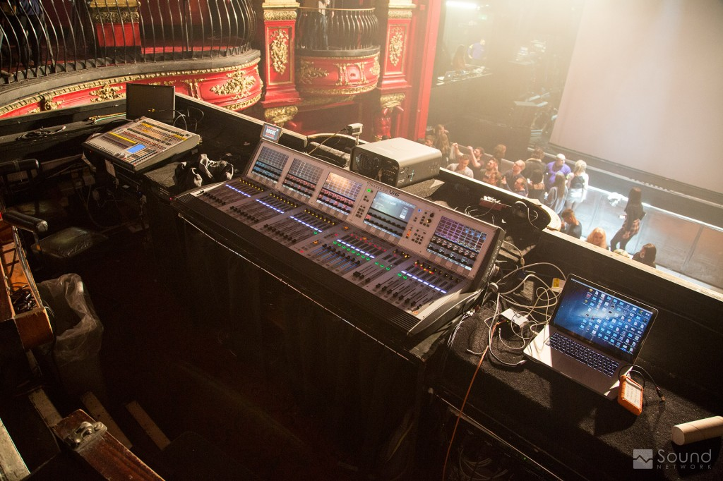 KOKO London FOH Soundcraft Vi6 Mixing Desk