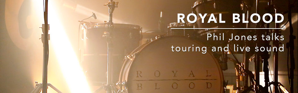 Royal Blood Live Sound and Microphones