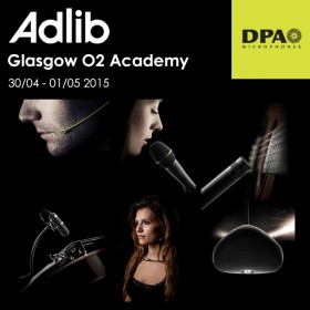 Experience DPA Microphones with Adlib at O2 Academy Glasgow