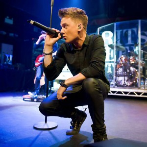 Conor Maynard and his DPA d:facto II Vocal Mic