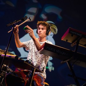 Jacob Collier and DPA d:vote™ 4099 Mics at Montreaux Jazz Festival