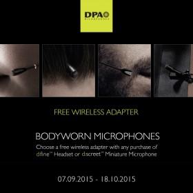 DPA Bodyworn Free Wireless Adapter