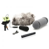 DPA d:dicate™ 4017C-R Compact Shotgun Mic with Rycote Kit
