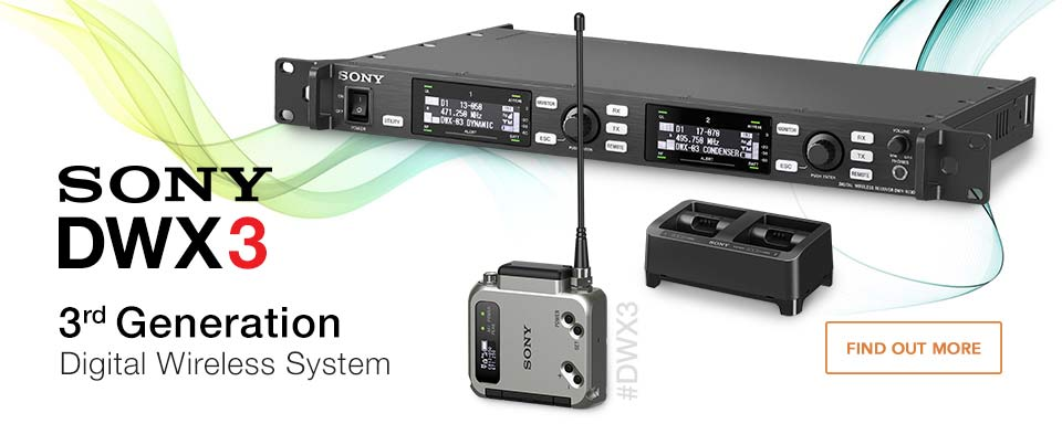 Check out the new Sony DWX3 Digital Wireless