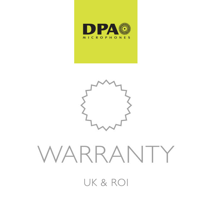 DPA Microphones Warranty Information