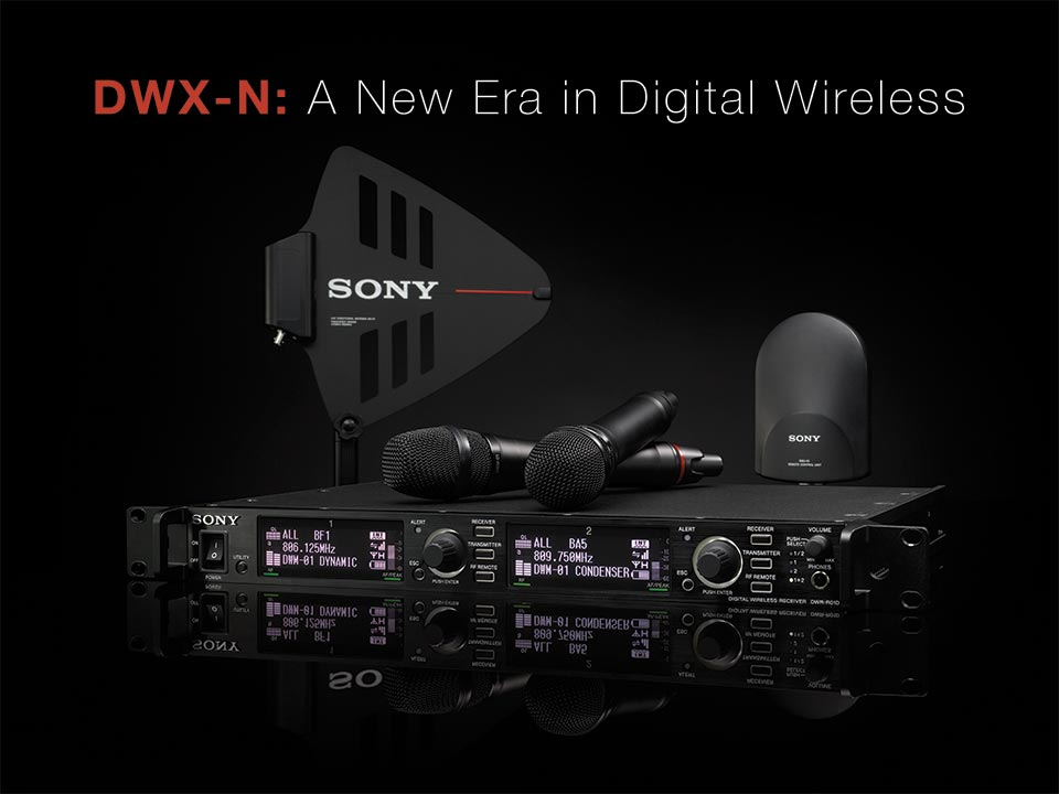 Sony DWX-N Digital Wireless