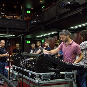 Sony DWX at the National Theatre with Autograph and Stage Sound Services