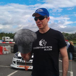 Codemasters Sound Recordist Chris Jojo