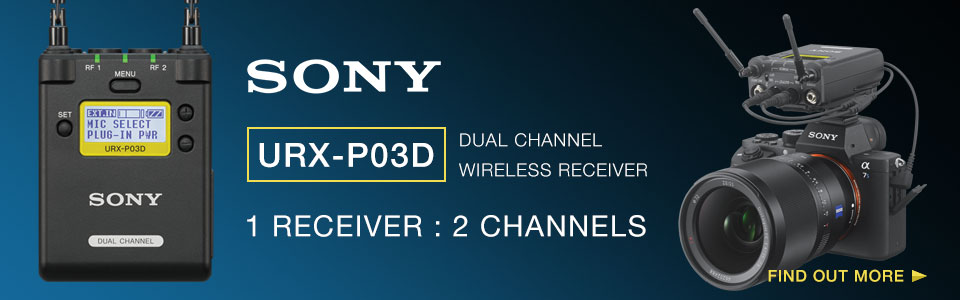 Sony URX-P03D Dual Channel Wireless Receiver