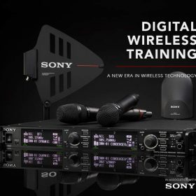 Free Digital Wireless Training with Sony DWX
