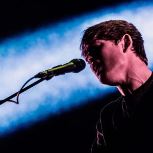 James Blake using DPA d:facto™ Vocal Mic