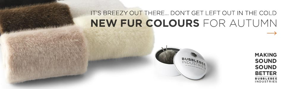 Bubblebee New Fur Colours