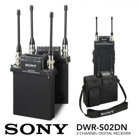 The New Sony DWR-S02DN 2-Channel Portable Digital Wireless Receiver