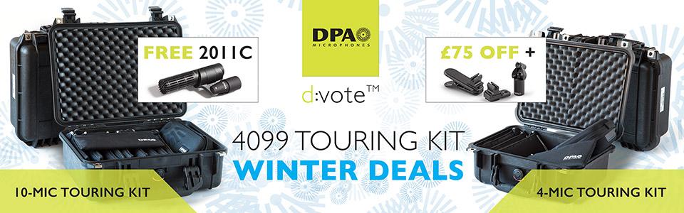 DPA d:vote™ 4099 Touring Kit Winter Deals 2016