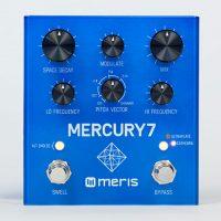 Meris Mercury7 Reverb Pedal controls