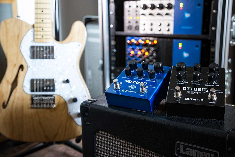 Meris Ottobit Jr and Mercury7 pedals now available