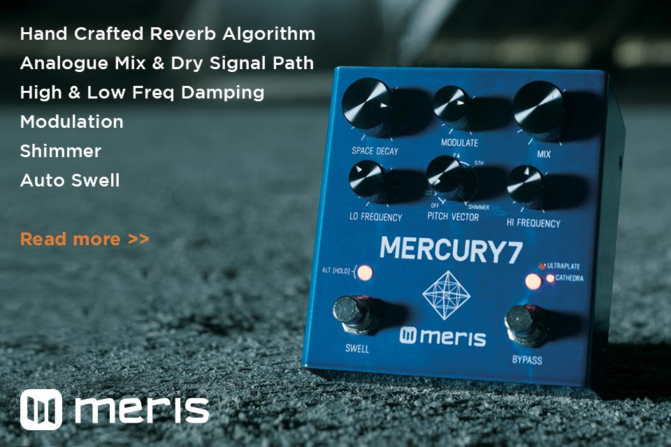 Meris Mercury7 Pedal Features