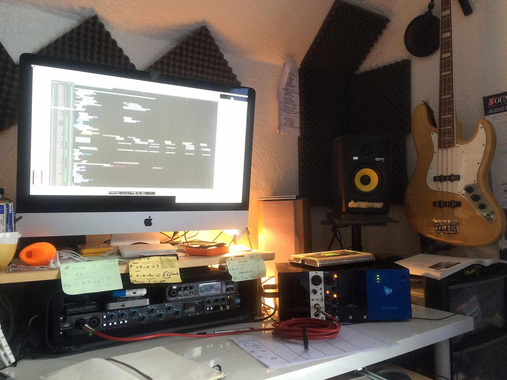 iBc studio for Video Game Sound Design