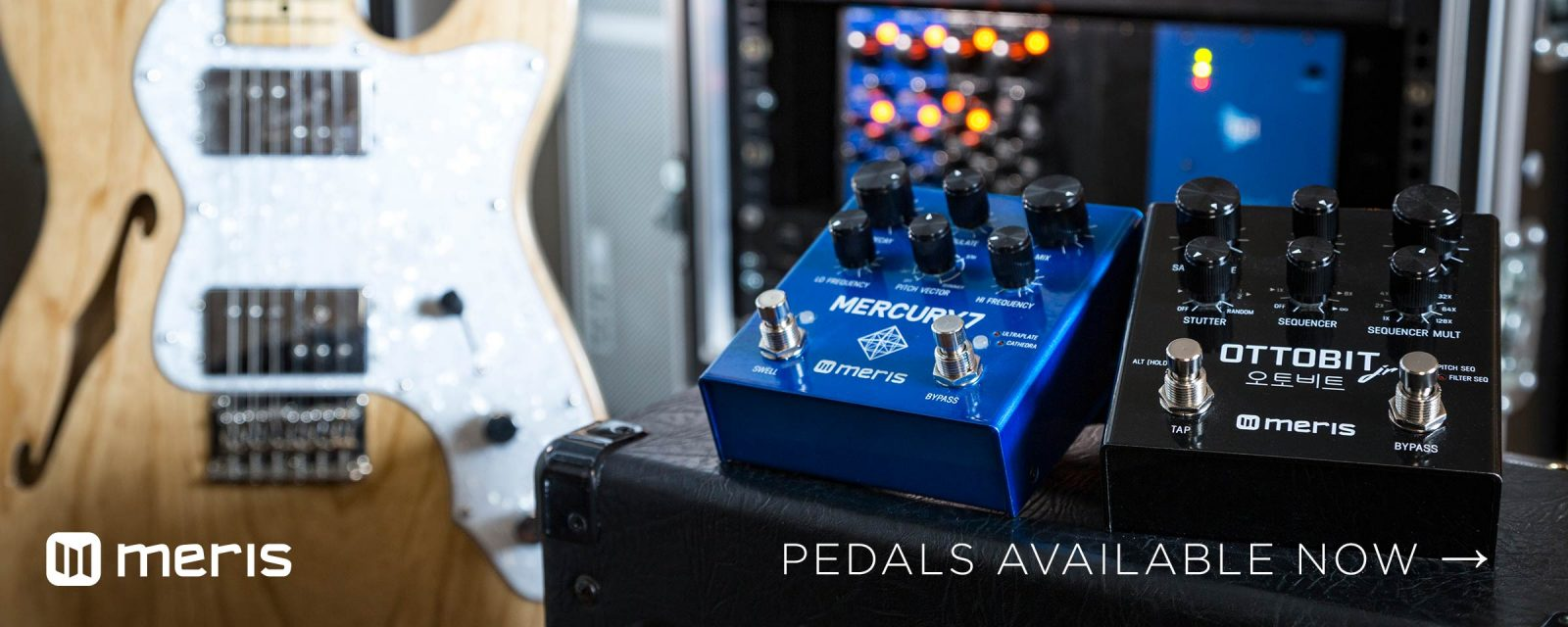 Meris Pedals Now Available