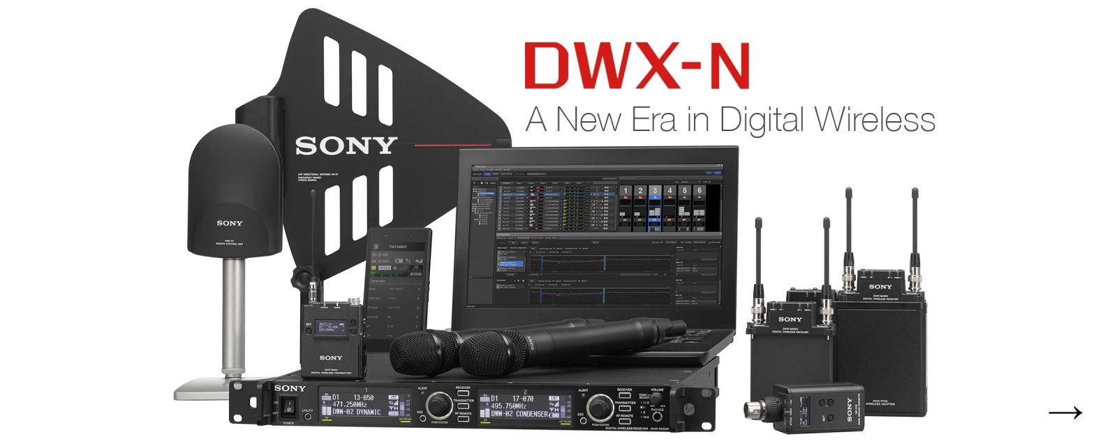 Sony DWX-N Digital Wireless