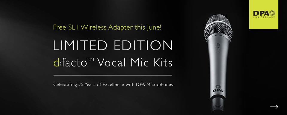 DPA d:facto Kit with FREE SL1 Adapter June 2017