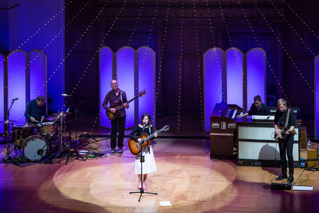 Katie Melua and band at Cadogan Hall 2017