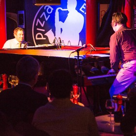 Joey Calderazzo and Gareth Williams at the Steinway & Sons Jazz Festival 2014