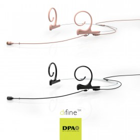 DPA d:fine 66 and 88 Headset Mics