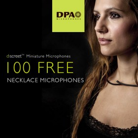 DPA give away 100 free Necklace Mics