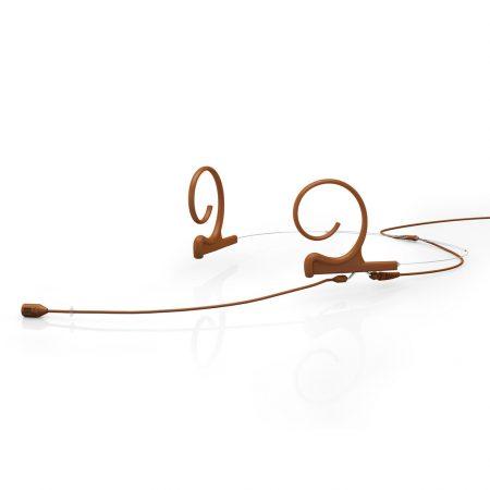 DPA d:fine 88 Directional Headset Mic, Dual Ear, Brown