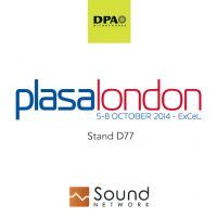 DPA and Sound Network at Plasa Show London 2014