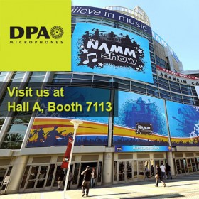 DPA Mics at the NAMM Show 2015
