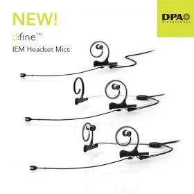 DPA d:fine IEM Broacast Headset Mic