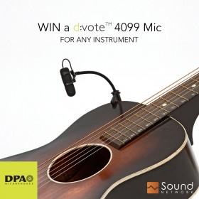 Win a DPA d:vote™ 4099 Instrument Microphone