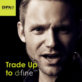 Trade-Up to DPA d:fine Headset Microphones