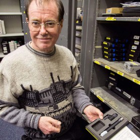 Nigel Woodford Richmond Film Services with DPAs d:dicate 4041-SP microphone