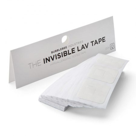 Bubblebee Invisible Lav Tape stickys