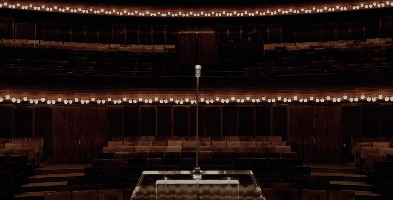 DPA d:dicate 4018F Podium Mic in Concert Hall