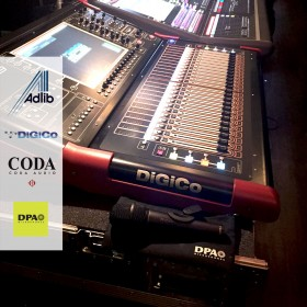 DPA joins Adlib, DiGiCo and Coda at O2 Forum