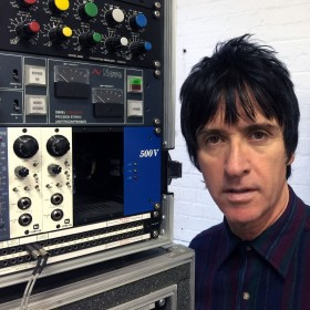 Johnny Marr and his Meris 440 Mic Preamps
