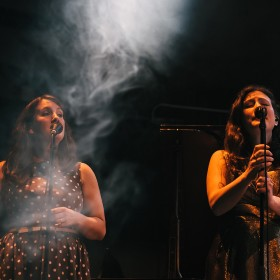 The Unthanks with DPA d:facto Vocal mics
