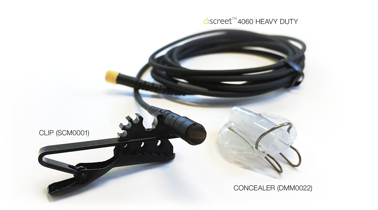 DPA d:screet™ Heavy Duty 4060 and Accessories