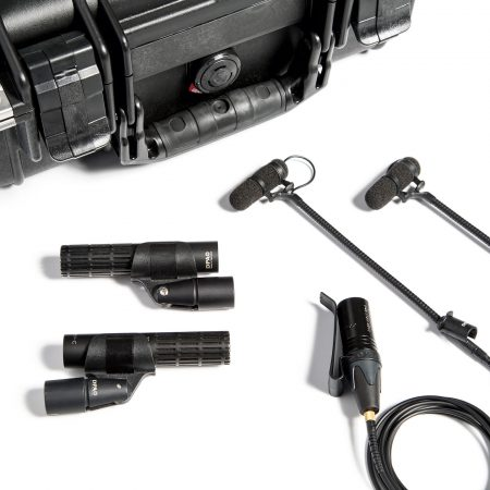 The VO4 + 2011C Kit has a pair of 2011C cardioid mics